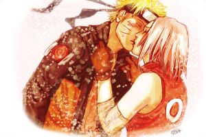 NaruSaku: What I feel... by MuseSilver