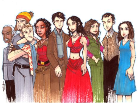 Commission - Firefly Markers by JeremyTreece