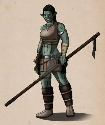 Orctober #2: Orclady by Narnise