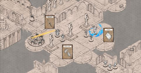 Epic isometric art set for digital tabletops by alexdrummo