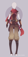 Custom outfit commission 87 by Epic-Soldier