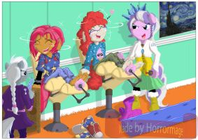 Vengence of the Fun Sleepover by Horrormage