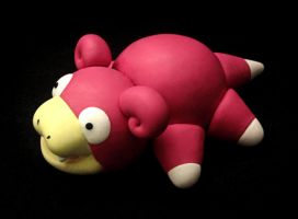 Slowpoke Pokedoll Sculpture