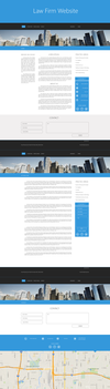 Website Design @ Law Firm by playaone
