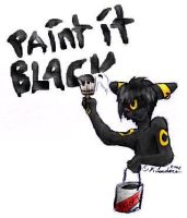 Paint It Black -colored by staccato