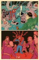 Spiderman Nightmare Commute p6 by sonny123