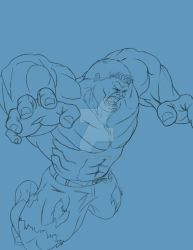 Leaping Hulk rev A by MadMexicanMike