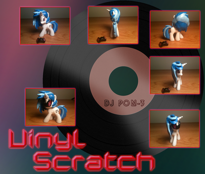 Vinyl Scratch Custom Blind Bag by DreadArkive