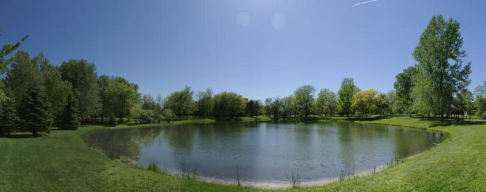 The Lake Panorama by Nattgew