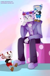 King Dice Is Not Amused by LokittyL