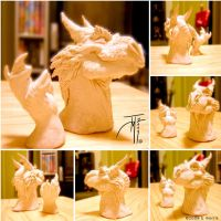 Sculpey 1 Dragon by elasticdragon