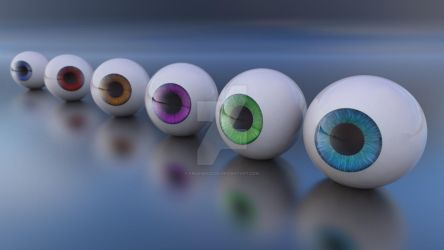 colored eyes by frequenzlos