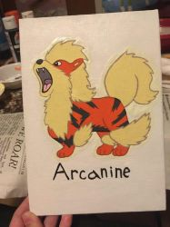 Arcanine Painting by Scott04069418