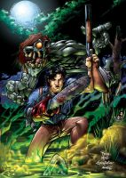Evil Dead -Moss, Gross, and me by bennyfuentes