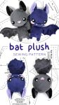 Bat Plush Pattern by SewDesuNe