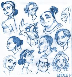 Faces by EddieHolly