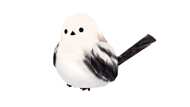 MMD DL! Long Tailed Tit (Original Link) by LoverCathy