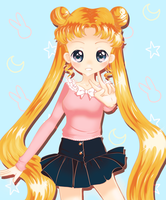 Usagi by mintycatart