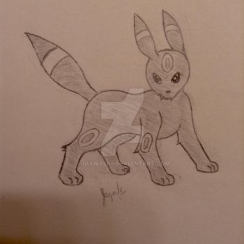 Umbreon by Jaywalk5
