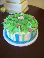 Peapod cake by see-through-silence