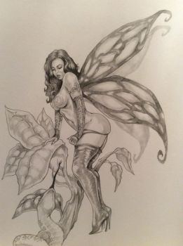 THe Fairy and the Snake By DW Miller by ConceptsByMiller