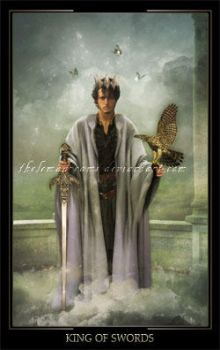 King Of Swords by ThelemaDreamsArt