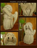 Weeping Angel Plush by Akiso