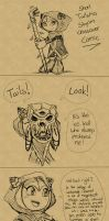 Skyrim crossover - Tailsmo part 1 by TwoBerries