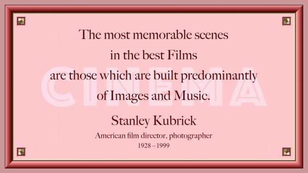 Stanley Kubrick Quote 2 by RSeer