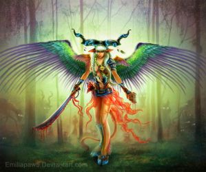 Goddess of Creatures by EmiliaPaw5
