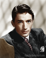 Gregory Peck by olgasha