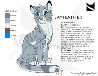 Jayfeather Character Sheet by Nightrizer