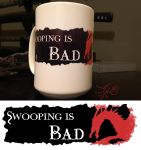 Swooping is Bad Mug by SyrenCreates