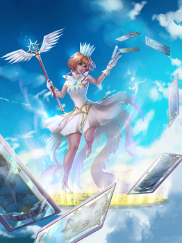 Card Captor Sakura by EiraQueenofSnow