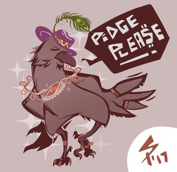 pimpy crow by ameoname