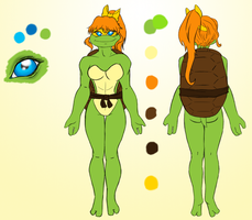 Monet Character Sheet by musable