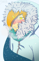 The Snow Falls Slowly by flame-heart85