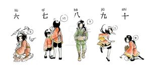 APH - Learn Chinese with Yao 2 by eikomakimachi