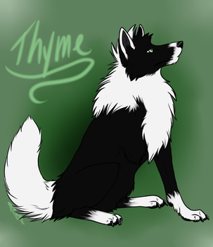 Cycle - Thyme - Speed Paint by littlezombiesol