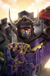 The Transformers # 39 - Combiner Wars by yamiza