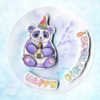 Birthday Panda by Keila-the-fawncat