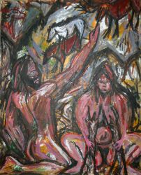 The Spirited hand and mother venus by JohnPipere