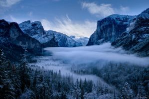Misty Yosemite by tt83x