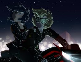 Motorcycle Race by Animalcool