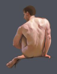 Male nude study 2017 by ComporreWhich