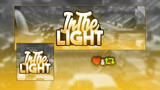 InTheLight logo / banner by chiefvicdesign