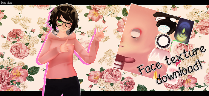 Face texture download !!! by h4ise