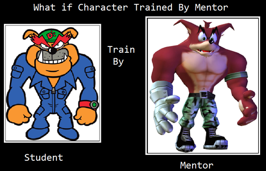 What if dribble was trained by crunch by VectorVsBowser72
