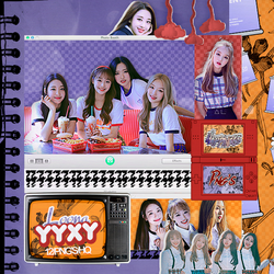 444|Loona YYXY|Png pack|#01| by happinesspngs