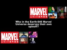 Who deserves a spinoff after Marvel 2K15 by EarthCenturion